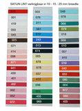 kleurenkaart lint