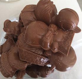 PAASFIGUREN KLEIN CALLEBAUT CHOCOLADE