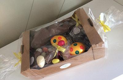 Kartonnen stapeldoos gevuld 23 x 16 cm