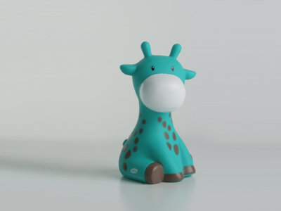 emerald groen raf de giraf mini spaarpot doopsuiker amandine brugge