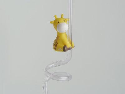 mosterdgeel raf de giraf rietje doopsuiker amandine brugge