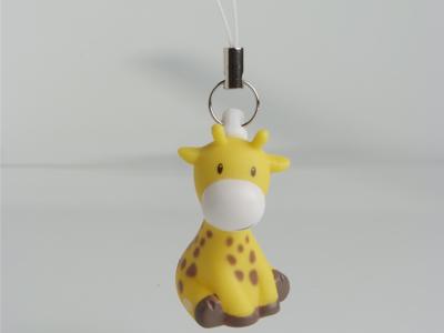 mosterdgeel raf de giraf mini sleutelhanger doopsuiker amandine brugge