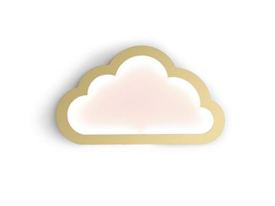 doopsuiker suikerbonen amandine by lrdesign sint-kruis brugge wolk cloud goud