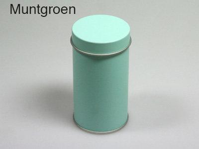 Muntgroen, vierkante doos blik, bb collection, doopsuiker suikerbonen amandine brugge